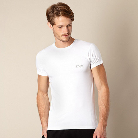 Emporio Armani - White crew neck t-shirt