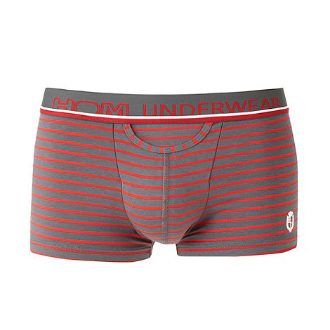 HOM - Red striped trunks