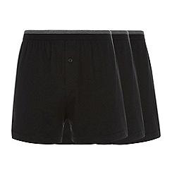 Thomas Nash - Pack of three black loose fit boxers