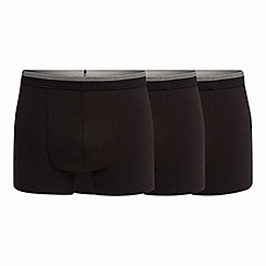 The Collection - Pack of three black hipster trunks