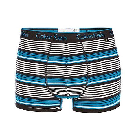 Calvin Klein Underwear - Blue multi striped trunks
