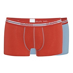 Sloggi - Pack of two orange trunks