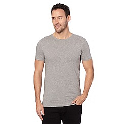 Thomas Nash - Pack of two grey crew neck t-shirts
