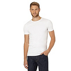 Thomas Nash - Pack of two white crew neck t-shirts