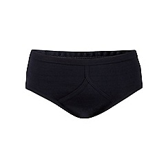 Debenhams - Pack of three navy briefs