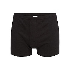 Debenhams Basics - Big and tall pack of three black boxers