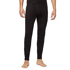 Maine New England - Black thermal long johns