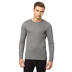Maine New England - Grey long sleeved thermal top