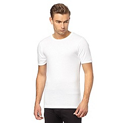 Maine New England - White ribbed thermal t-shirt
