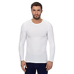 Maine New England - White lightweight thermal top