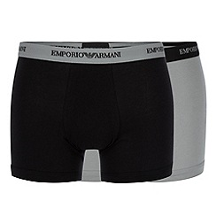 Emporio Armani - Pack of two stretch cotton boxer briefs
