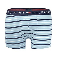 Tommy Hilfiger - Light blue striped hipster trunks