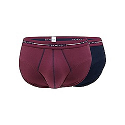 Sloggi - Pack of two purple midi trunks