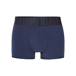 Calvin Klein - INTENSE POWER Navy cotton stretch trunks