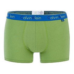 Calvin Klein Underwear - Bright green fashion trunk
