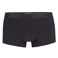 HOM - Black 'Temptation' striped trunks