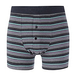 RJR.John Rocha - Designer light purple block striped boxers