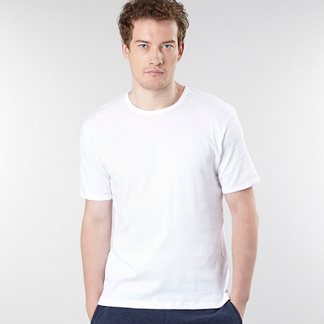 Thomas Nash - Pack of two white t-shirts