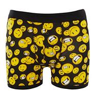 Black smiley faces boxers