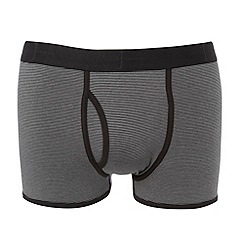 J by Jasper Conran - Designer grey fine striped trunks