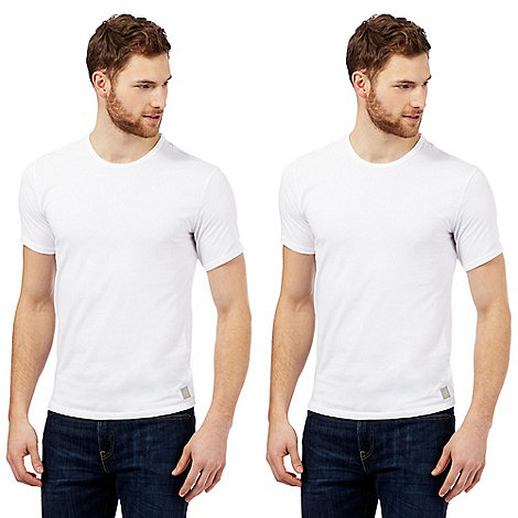 Calvin Klein Underwear - Pack of two white CK one t-shirts