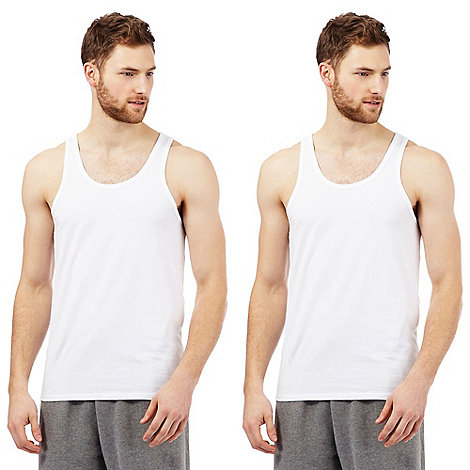 Calvin Klein - Pack of two CK one tank tops