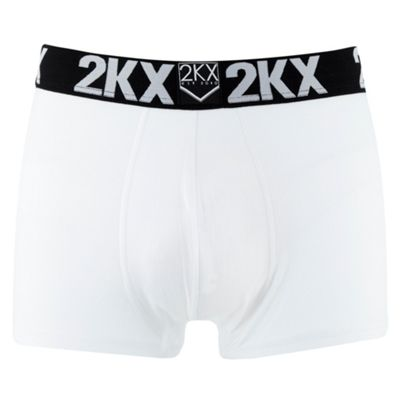 White Fitted Boxer Briefs
