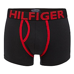 Tommy Hilfiger - Dark grey logo trunks in a gift box