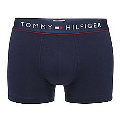 Tommy Hilfiger - Navy cotton stretch trunks