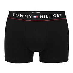 Tommy Hilfiger - Black cotton stretch trunks