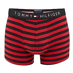 Tommy Hilfiger - Red striped trunks