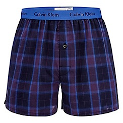 Calvin Klein Underwear - Purple checked boxers