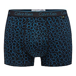 Calvin Klein Underwear - Black logo cotton stretch trunks