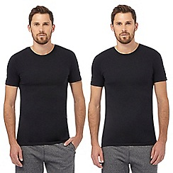 The Collection - Pack of two black crew neck t-shirts