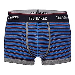 Ted Baker - Blue bold striped trunks