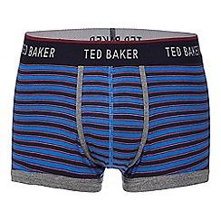 Ted Baker - Blue bold striped trunks