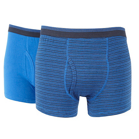 Thomas Nash - Pack of two blue keyhole trunks