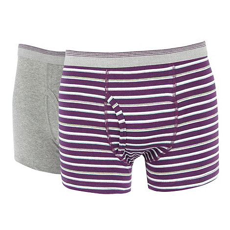 Thomas Nash - Pack of two purple keyhole trunks