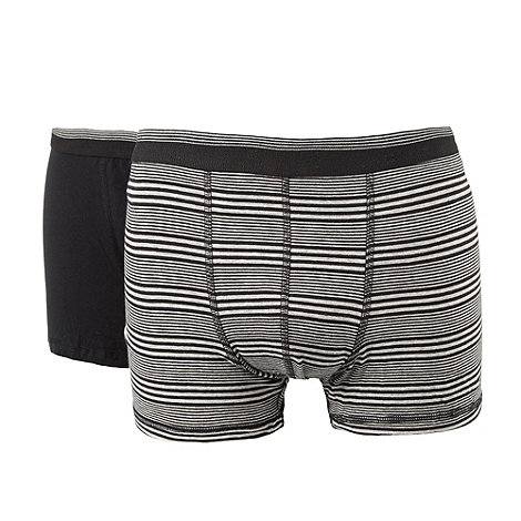 Thomas Nash - Grey cotton stretch hipster trunks