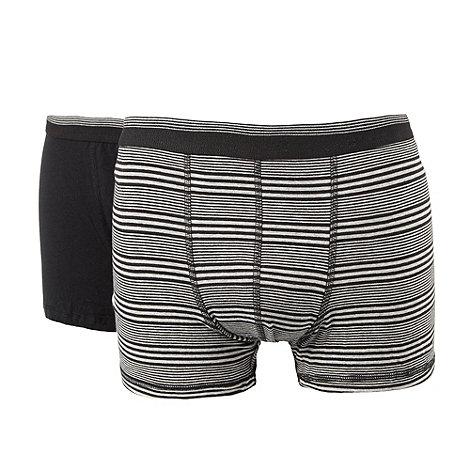 Thomas Nash - Grey cotton stretch hipster trunks