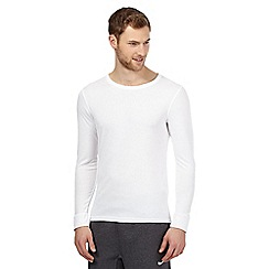 Maine New England - White long sleeved thermal top
