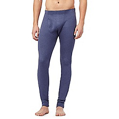 Maine New England - Blue long thermal leggings