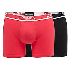 Emporio Armani - Pack of two assorted stretch trunks
