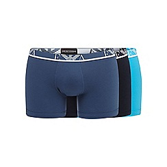 Emporio Armani - Pack of three assorted stretch cotton trunks