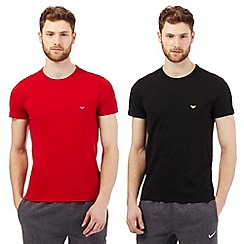 Emporio Armani - Pack of two red t-shirts