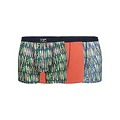 Mantaray - Pack of three assorted surfboard print hipster trunks