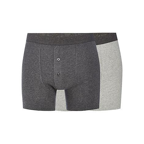 RJR.John Rocha - Designer pack of two grey boxer shorts
