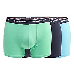 Tommy Hilfiger - Pack of three assorted logo waistband trunks