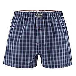 Tommy Hilfiger - Navy checked boxers