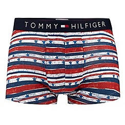 Tommy Hilfiger - Red stars and stripes print hipster trunks